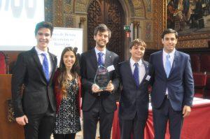 Equipo Ganador del Torneo Universidad Carlos III de Madrid