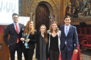 Equipo finalista Universidad Pontificia Comillas de Madrid