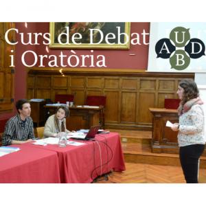 curs de debat i oratoria segon semestre