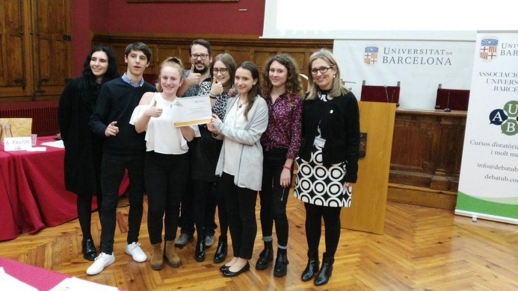 lliga de debat de secundaria universitat de barcelona 2017 2